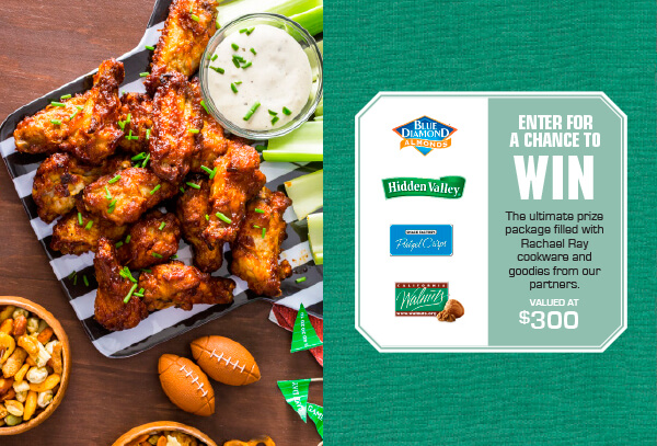 Rachael Ray Get in the Game Sweepstakes