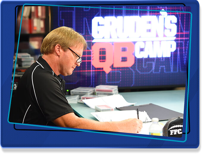 Gruden's QB Camp Sweepstakes with Mike & Mike