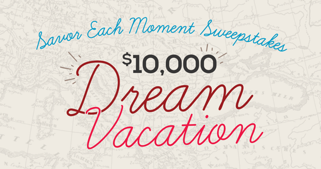 Home Run Inn Savor Each Moment Sweepstakes (HomeRunInnMoments.com)