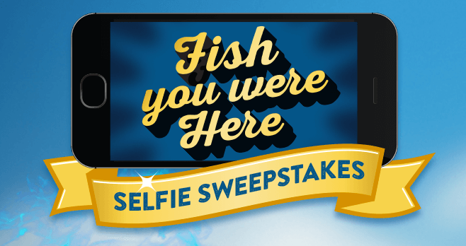 Long John Silver's Fish You Were Here Selfie Sweepstakes (LJSelfie.com)
