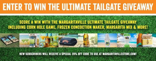 Margaritaville's The Ultimate Tailgate Giveaway