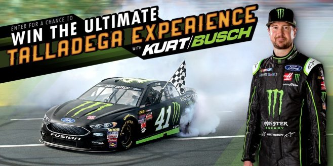 Monster Energy Ultimate Kurt Busch Talladega Experience Sweepstakes