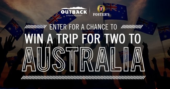 Outback Steakhouse Australia Day Sweepstakes