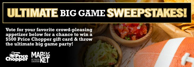 Price Chopper Big Game 2017 Sweepstakes