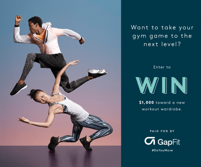 Refinery29 + GapFit Sweepstakes