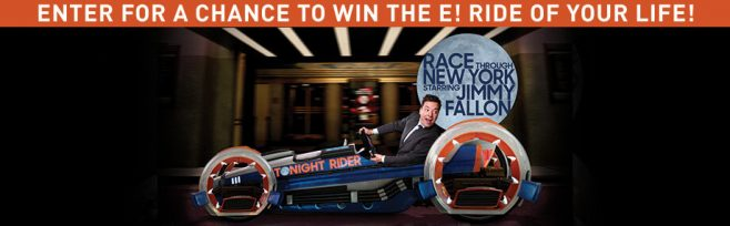 E! Ride Of Your Life Sweepstakes