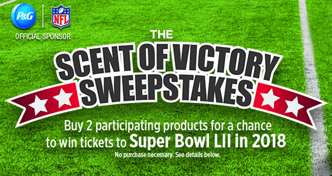 Scent of Victory Sweepstakes (ScentofVictorySweeps.com)