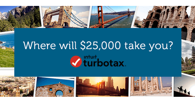 TurboTax $25,000 Payday Sweepstakes 2017