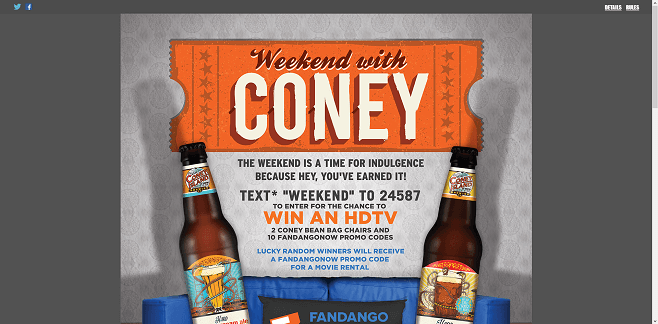 Coney Island Weekend with Coney Instant Win Game And Sweepstakes