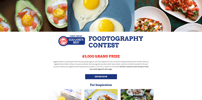 Eggland's Best Foodtography Contest