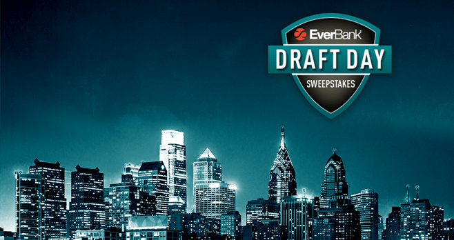 EverBank Draft Day Sweepstakes 2017 (EverBank.com/Draft2017)