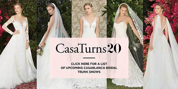 Casablanca Bridal's 20th Anniversary Bride Sweepstakes