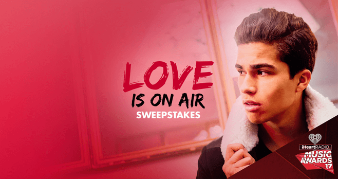 Radio Disney Love Is On Air Sweepstakes (Radio.Disney.com)