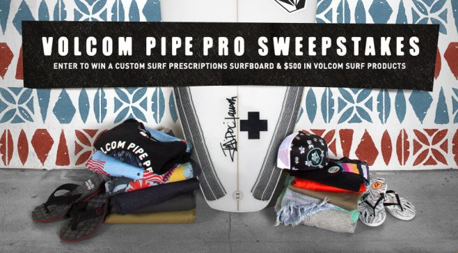 Volcom Pipe Pro Sweepstakes