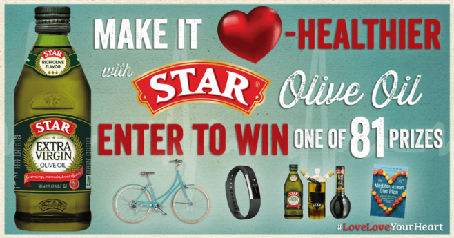 STAR Fine Foods Heart Healthy Sweepstakes