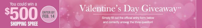 Stoneberry Valentine's Day Giveaway