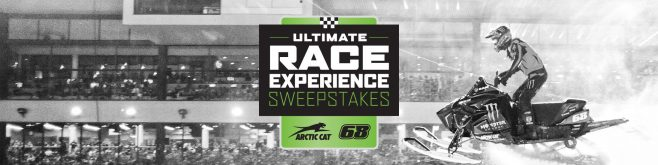Artic Cat Ultimate Race Experience Sweepstakes