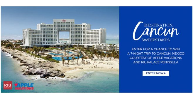 Catherines Destination Cancun Sweepstakes