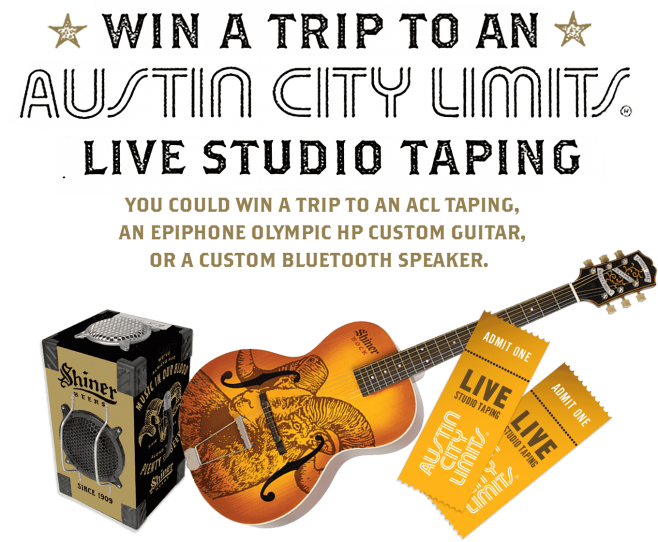 Shiner Austin City Limits Sweepstakes
