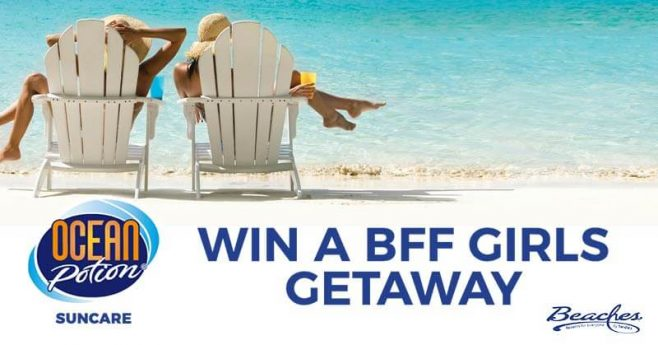 Ocean Potion BFF Weekend Sweepstakes