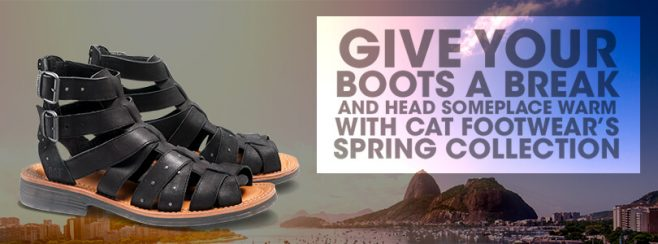 CAT Footwear Win a Weekend Trip Sweepstakes