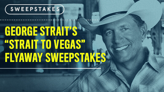CMT Strait to Vegas Flyaway Sweepstakes