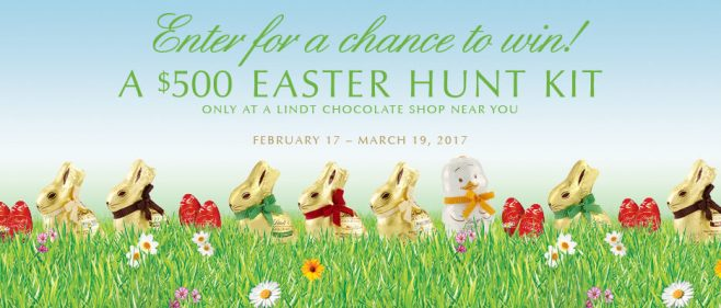 Lindt Easter Sweepstakes