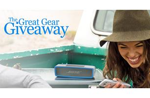 Crutchfield's Great Gear Giveaway Sweepstakes