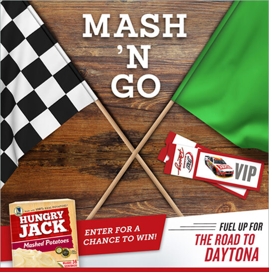 Hungry Jack Potatoes Mash N' Go Promotion