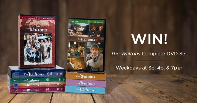 INSP The Waltons Complete DVD Set Sweepstakes