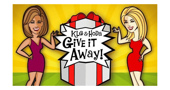 KLG And Hoda Give It Away Sweepstakes (Today.com/KLGAndHoda)