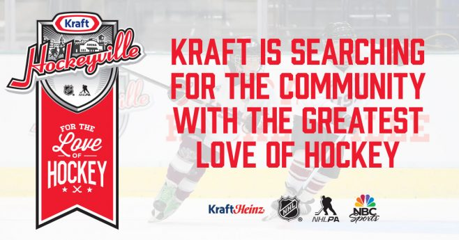 Kraft Hockeyville USA 2017 Contest