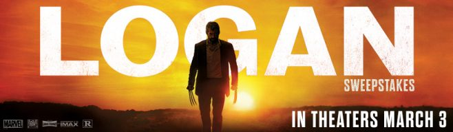MovieTickets Logan Sweepstakes