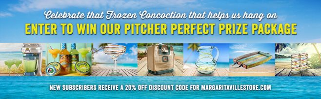 Margaritaville's National Margarita Day Pitcher Perfect Sweepstakes