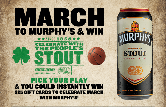 Murphy's March Promotion