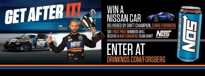 NOS Energy Drink Car Giveaway Sweepstakes