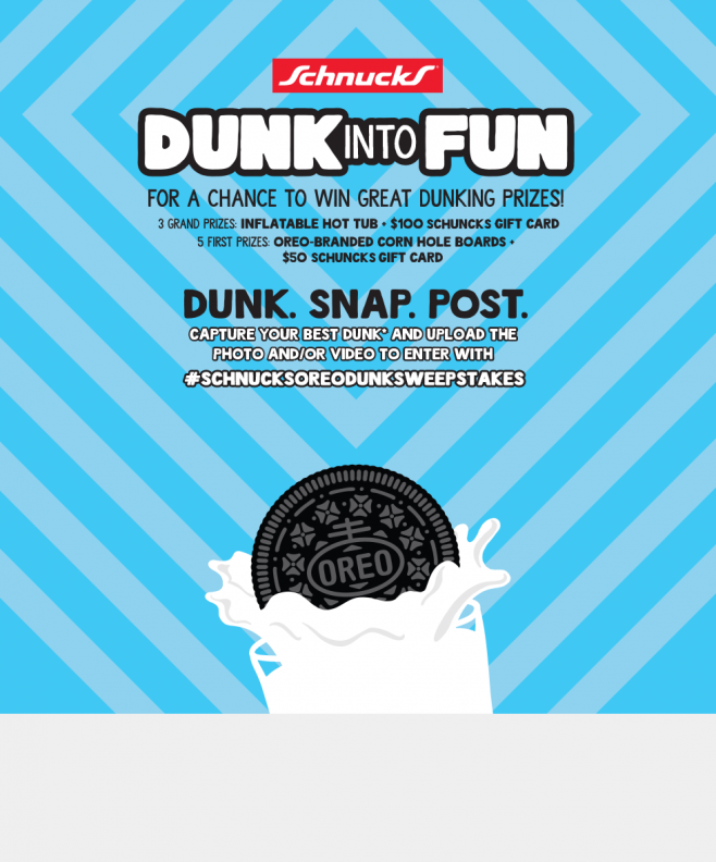 Schnucks OREO Dunk Into Fun Challenge