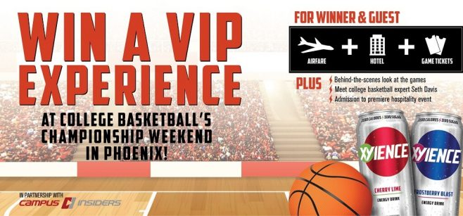 XYIENCE College Basketball Experience Sweepstakes