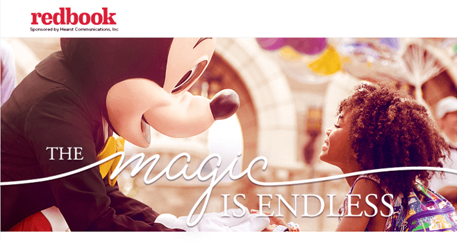 Redbook The Magic Is Endless Sweepstakes (RedbookMag.com/EndlessMagic)