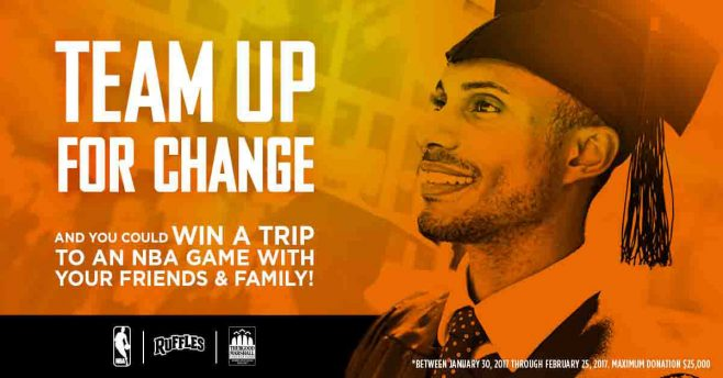Ruffles Black History Month Team Up For Change Sweepstakes