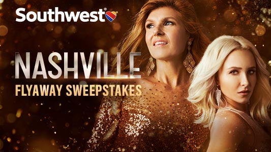 CMT And Southwest Airlines NASHVILLE Fly Away Sweepstakes