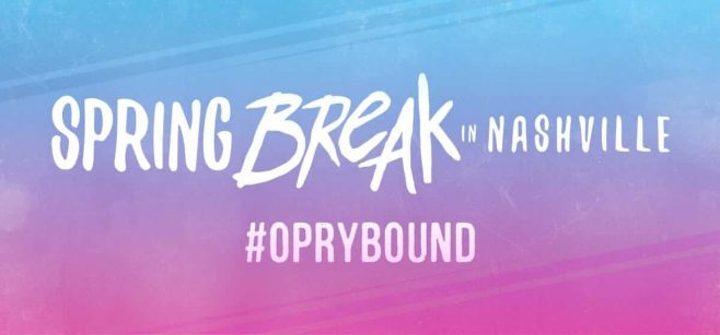 Opry Spring Break Sweepstakes