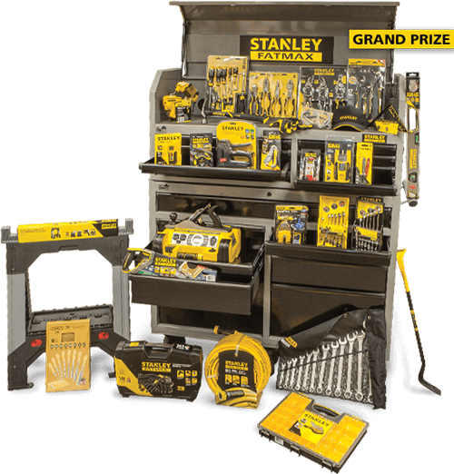 STANLEY Fill Your Toolbox Sweepstakes
