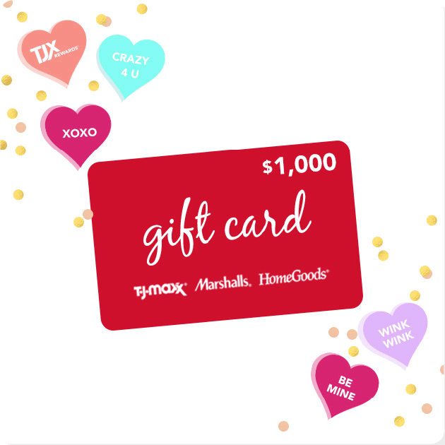 TJX Rewards Access Something Sweet Sweepstakes