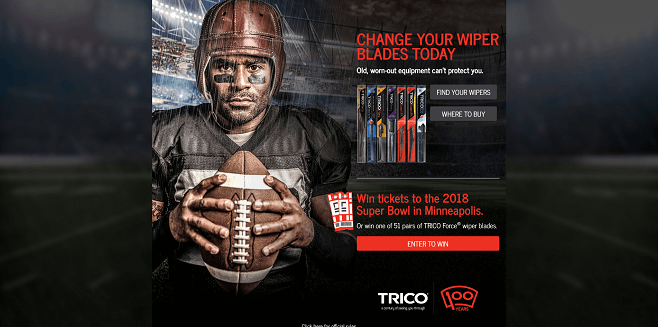 Trico Big Game Sweepstakes