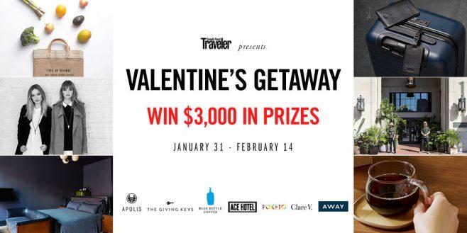 Apolis Valentine's Getaway Sweepstakes