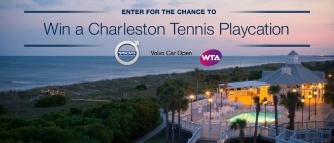 Volvo Charleston Tennis Playcation Sweepstakes