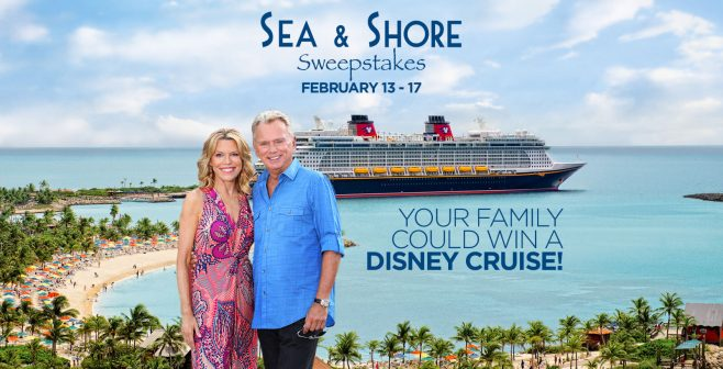 Wheel of Fortune Sea & Shore Sweepstakes