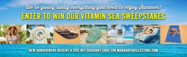 Margaritaville Vitamin Sea Sweepstakes