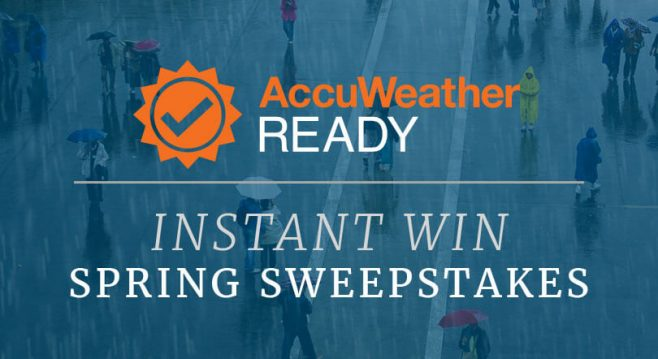 AccuWeather Ready Spring Sweepstakes and Instant Win Game